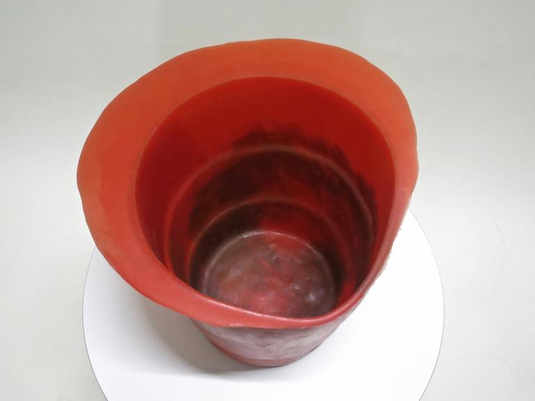 Ice Bucket / Vase by Gaetano Pesce, Fish Design  Purchased in NYC 1990's In Excellent Condition For Sale In Jersey City, NJ