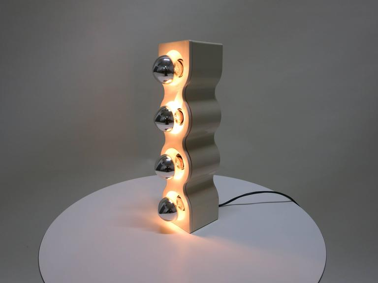 Sinus Lamp Designed in 1972 by Ettore Sottsass for Stilnovo, Made in Italy 6