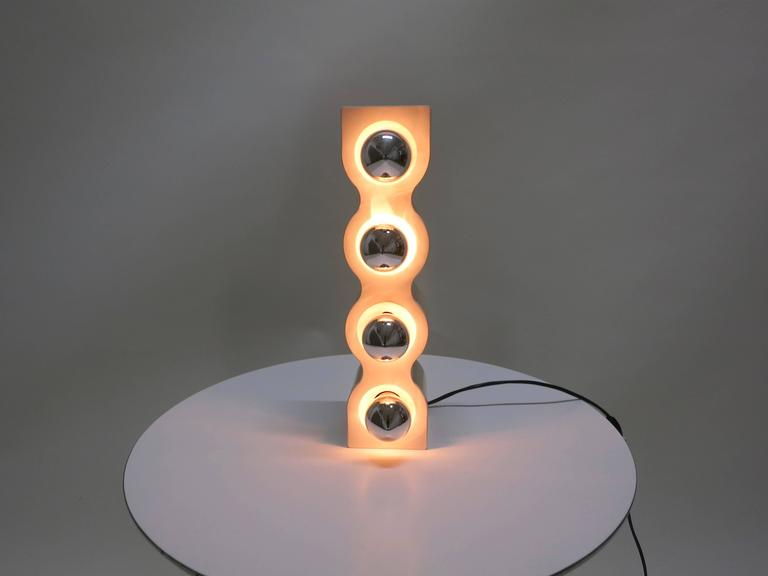 Sinus Lamp Designed in 1972 by Ettore Sottsass for Stilnovo, Made in Italy 7