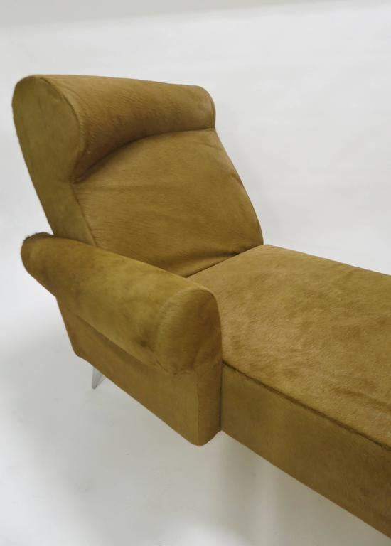 chaise longue in cowhide by philippe starck for driade aleph ... - Chaise Longue Philippe Starck