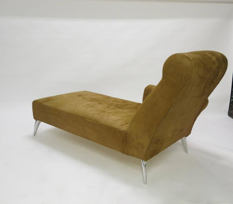 Chaise longue in cowhide by philippe starck for driade aleph circa 1990 ita - Chaise design starck ...