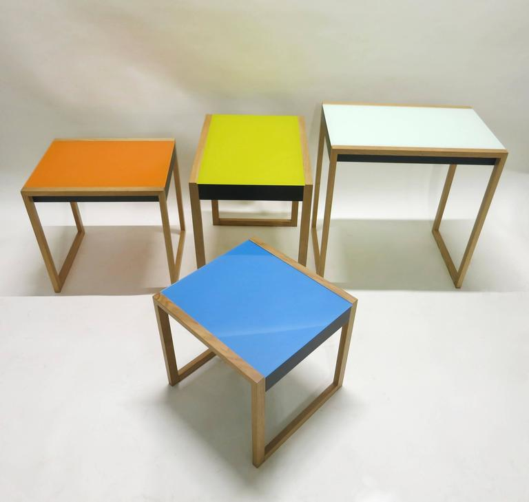Home Albers By Design: Nesting Tables Designed By Josef Albers, Vitra Re-Edition