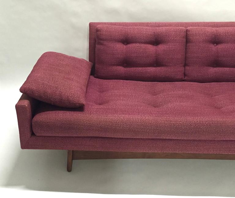 Mid Century Modern Sofa By Adrian Pearsall For Craft Ociates Model 2408 Usa