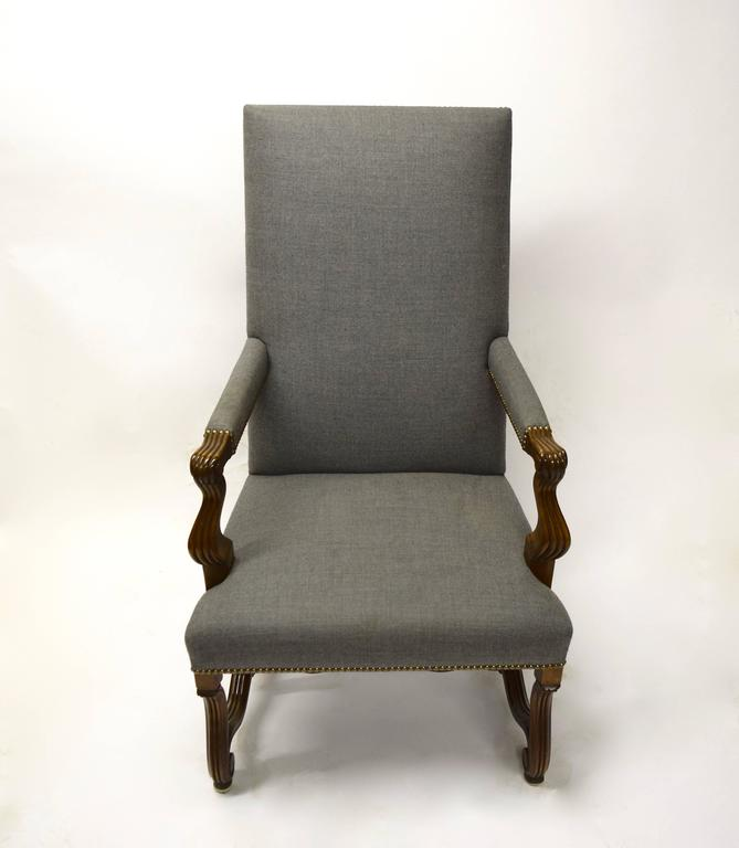 Ten High Back Dining Chairs in Mahogany, USA, Early 2000s ...