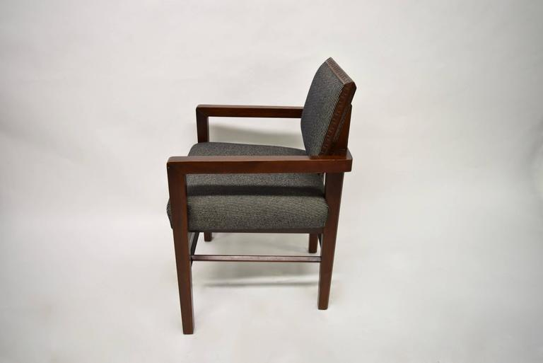 Set Of Eight Taliesin Dining Chairs By Frank Lloyd Wright For Heritage Henredon At 1stdibs