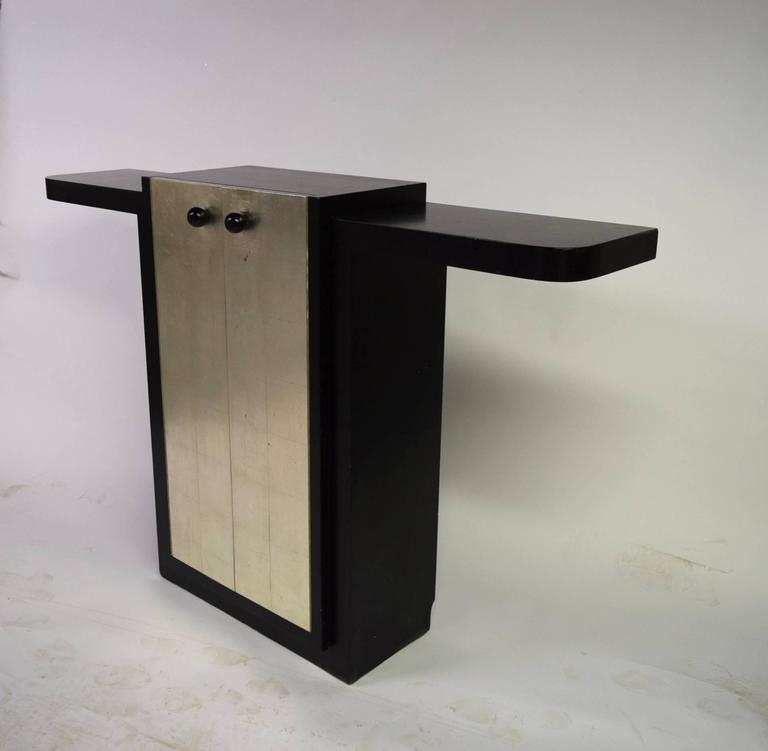 French Art Deco Console by Jules Bouy, circa 1925, France