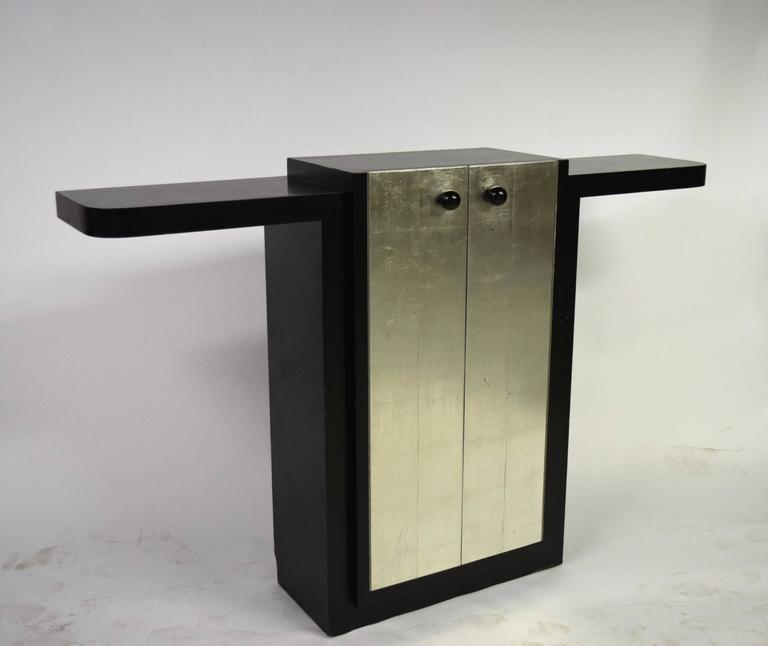 Early 20th Century Art Deco Console by Jules Bouy, circa 1925, France