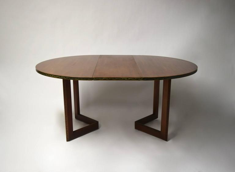 Dining Set By Frank Lloyd Wright For Heritage Henredon