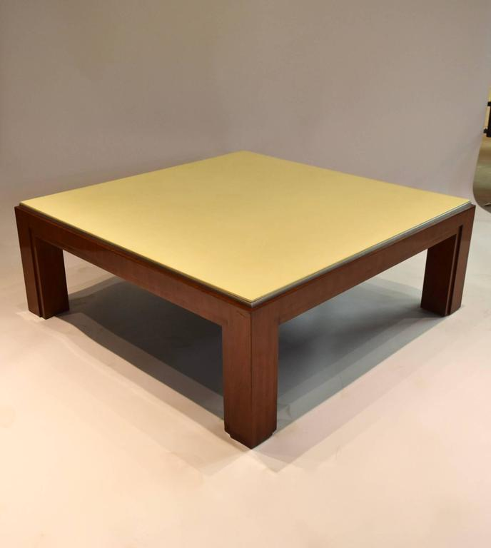 Square Coffee Table By Ralph Lauren For Sale 2