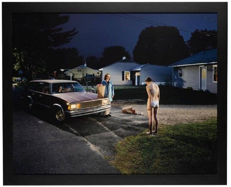 Modern Gregory Crewdson, Untitled 'Penitent Girl' For Sale