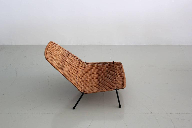 American Woven Wicker Pool Chairs  For Sale