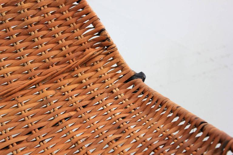 Woven Wicker Pool Chairs  For Sale 2