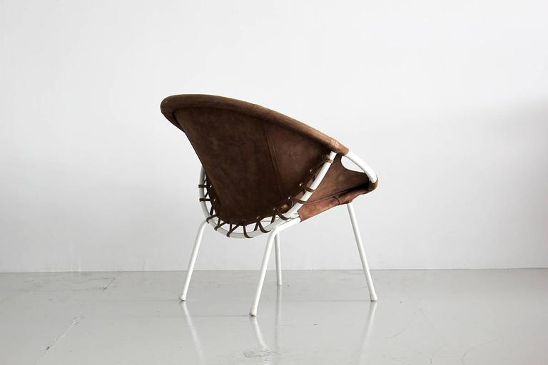 20th Century Austrian Scoop Chair For Sale