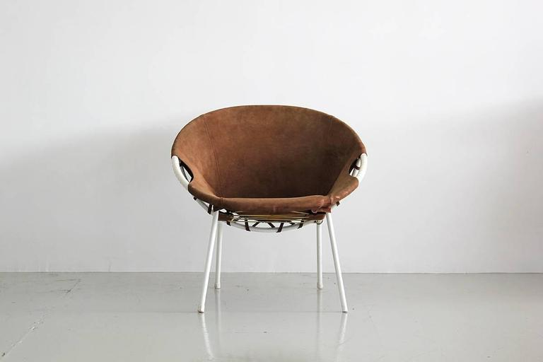 Austrian Scoop Chair In Excellent Condition For Sale In Los Angeles, CA