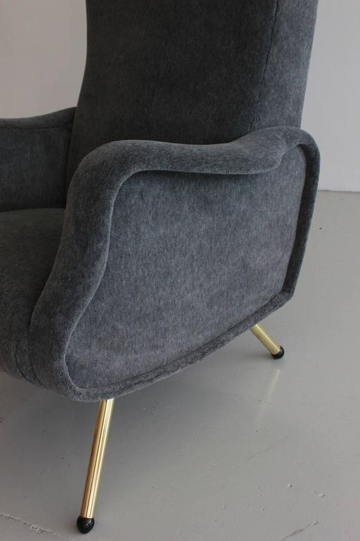 Mid-20th Century Italian Chairs Attributed to Marco Zanuso For Sale