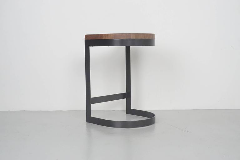 Walnut Saddle Stools 6