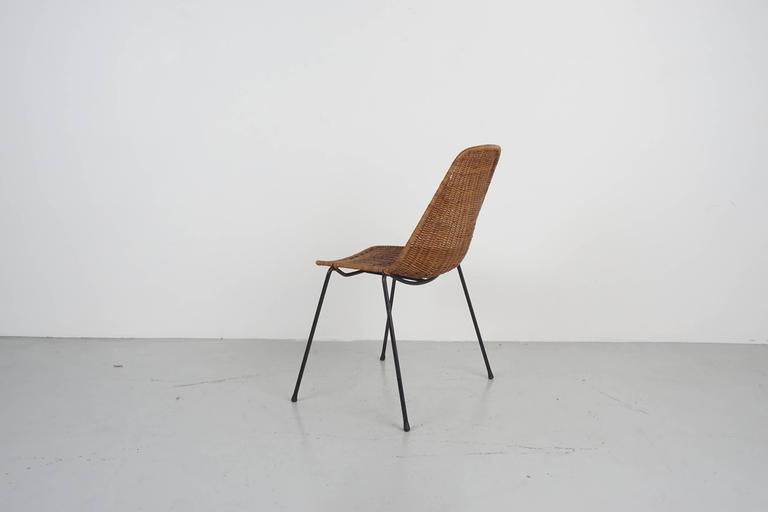 Carlo Graffi & Franco Campo Dining Chairs For Sale 1