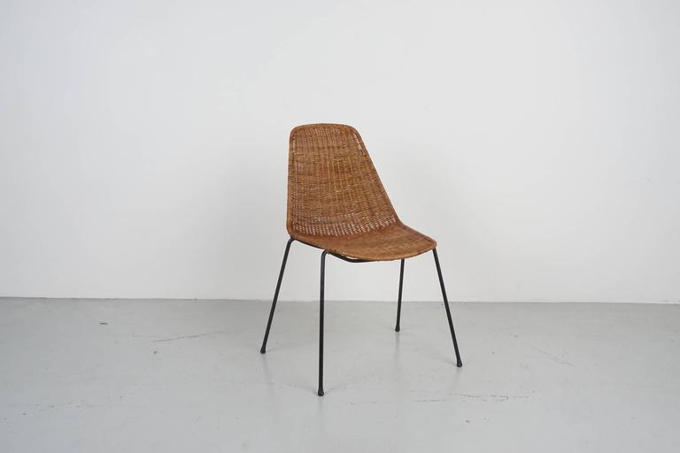 Italian Carlo Graffi & Franco Campo Dining Chairs For Sale
