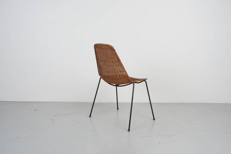 Mid-20th Century Carlo Graffi & Franco Campo Dining Chairs For Sale