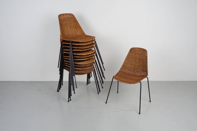 Carlo Graffi & Franco Campo Dining Chairs For Sale 2