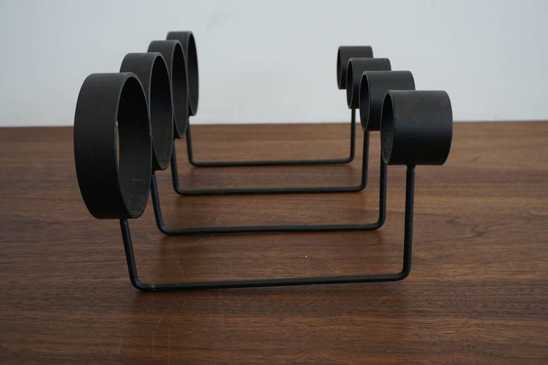 Minimalist Iron Wine Rack 3