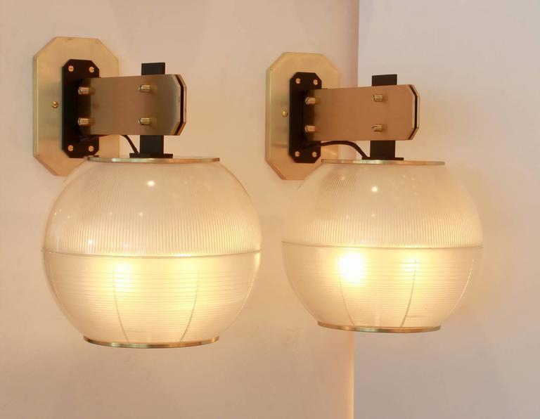 Italian Sconces in the Style of Gardella For Sale