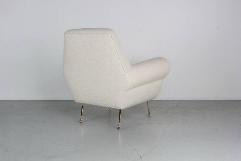 Mid-20th Century Large Italian Chairs For Sale