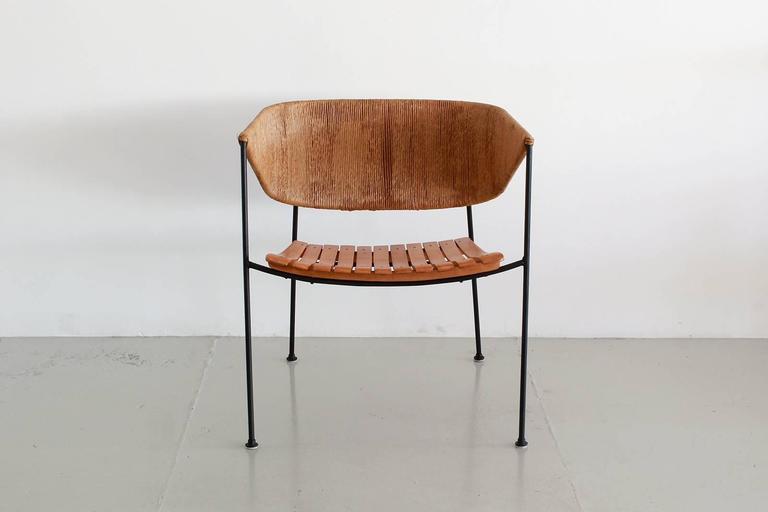 Berlin Iron Arthur Umanoff Chairs For Sale