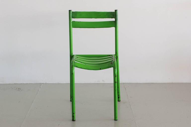 Mid-20th Century Set of 40 French Cafe Chairs For Sale