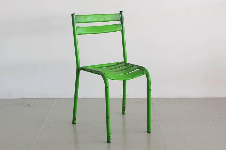 Set of 40 French Cafe Chairs For Sale 3