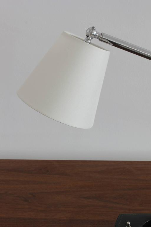 Mid-20th Century Desk Lamp in Style of Jacques Adnet For Sale