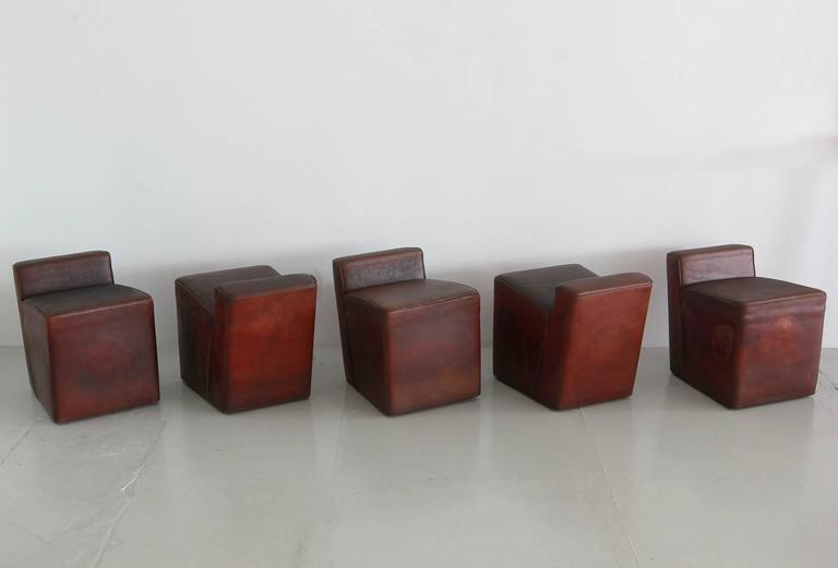 Italian Leather Cubes 2