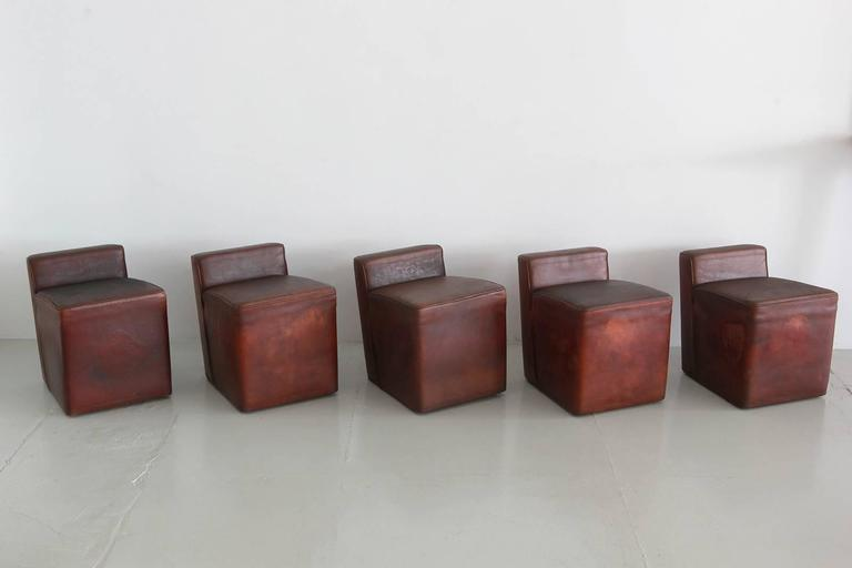 Italian Leather Cubes 3
