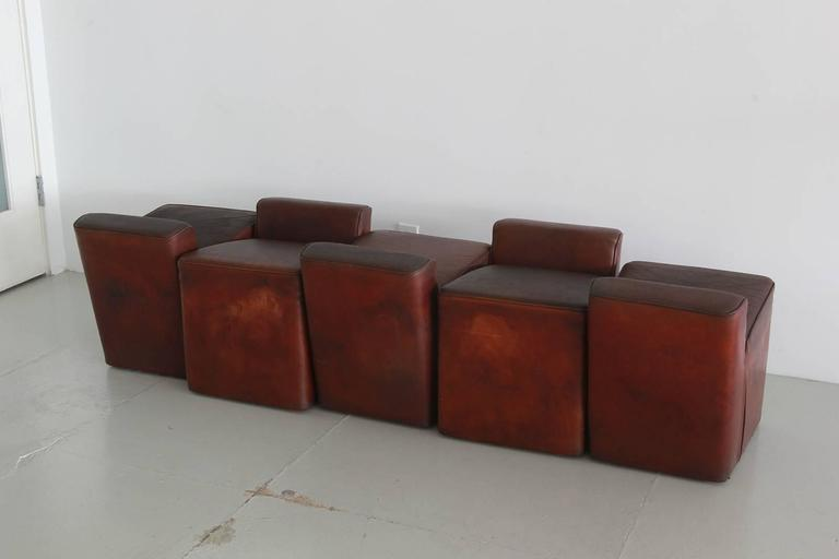 Italian Leather Cubes 4