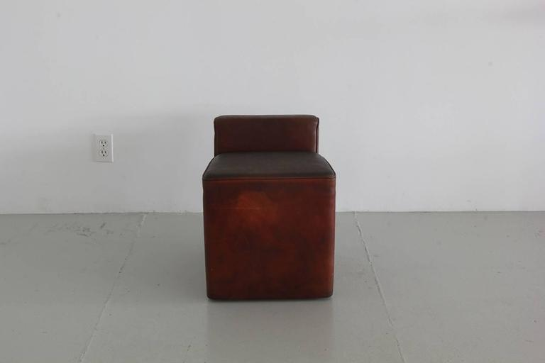 Italian Leather Cubes 5
