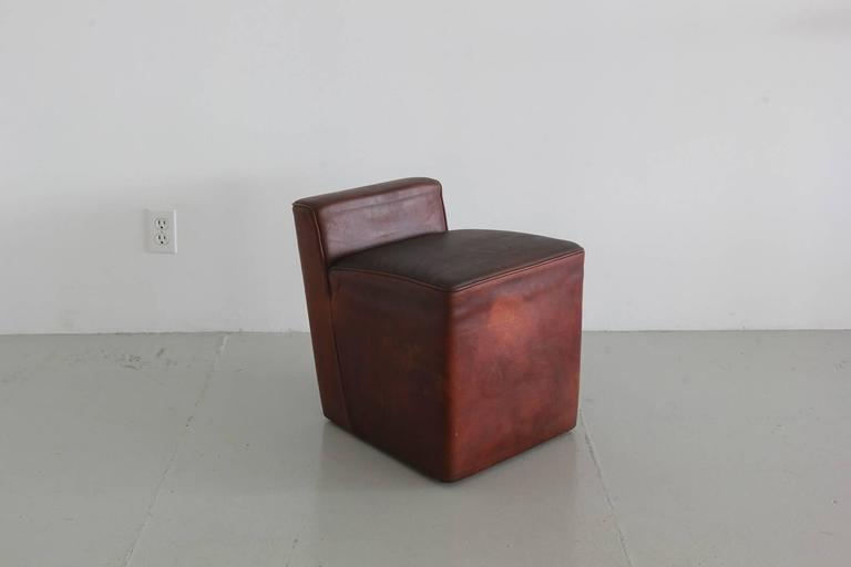 Italian Leather Cubes 6