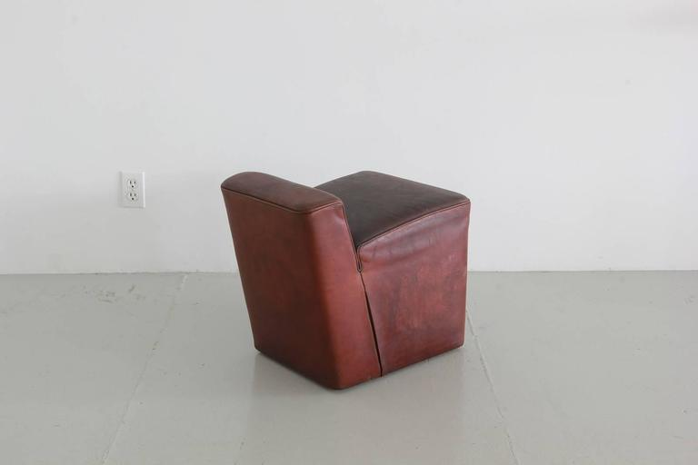 Italian Leather Cubes 7