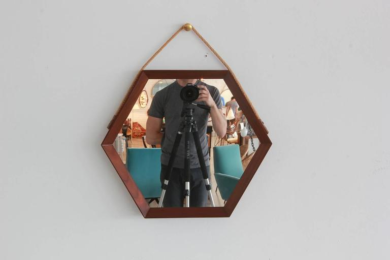 Danish Hexagonal Mirror 2