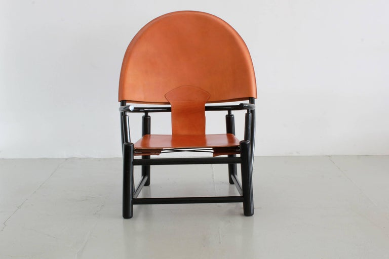 "Werther Toffoloni and Piero Palange ""Hoop"" Lounge Chair 2"