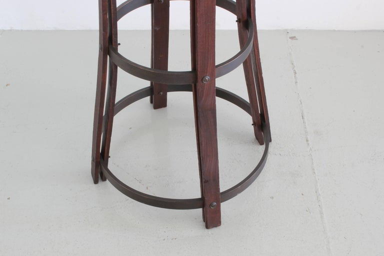 Leather Italian Bar Stools For Sale