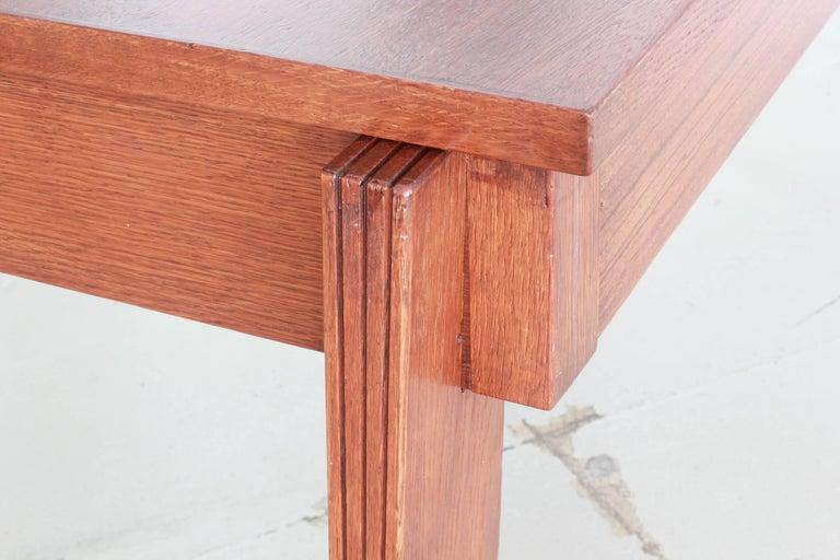 Oak Andre Sornay Desk For Sale