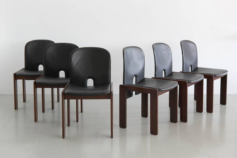 Set of Six Afra & Tobia Scarpa Chairs 2