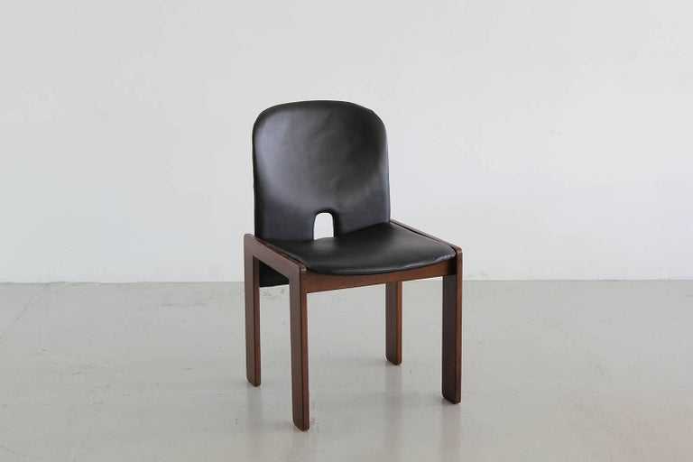 Set of Six Afra & Tobia Scarpa Chairs 4