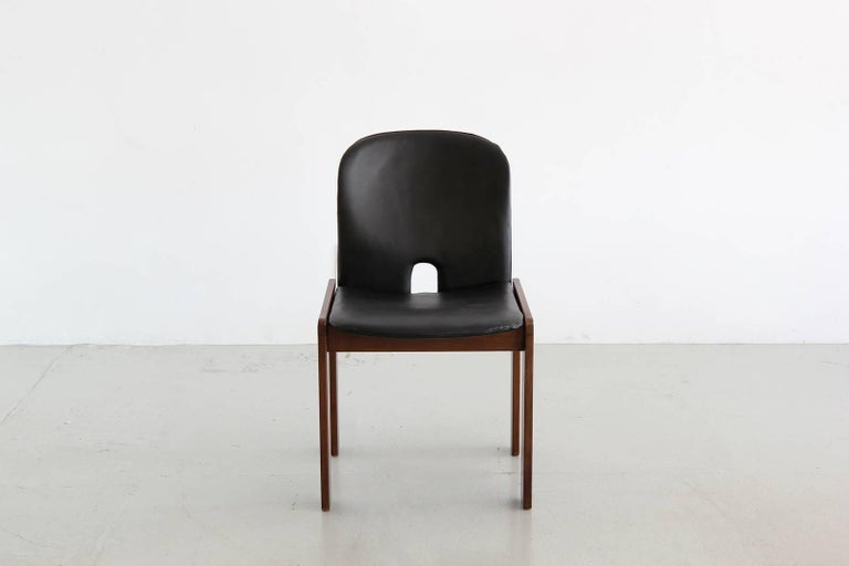 Set of Six Afra & Tobia Scarpa Chairs 5