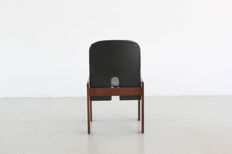 Set of Six Afra & Tobia Scarpa Chairs 7