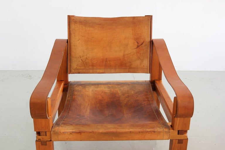Leather Chair by Pierre Chapo 6