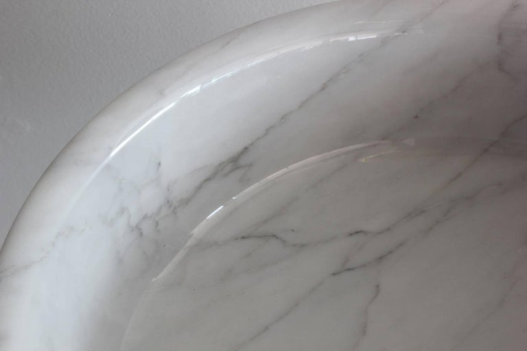 Carrara Marble Angelo Mangiarotti Vessels For Sale