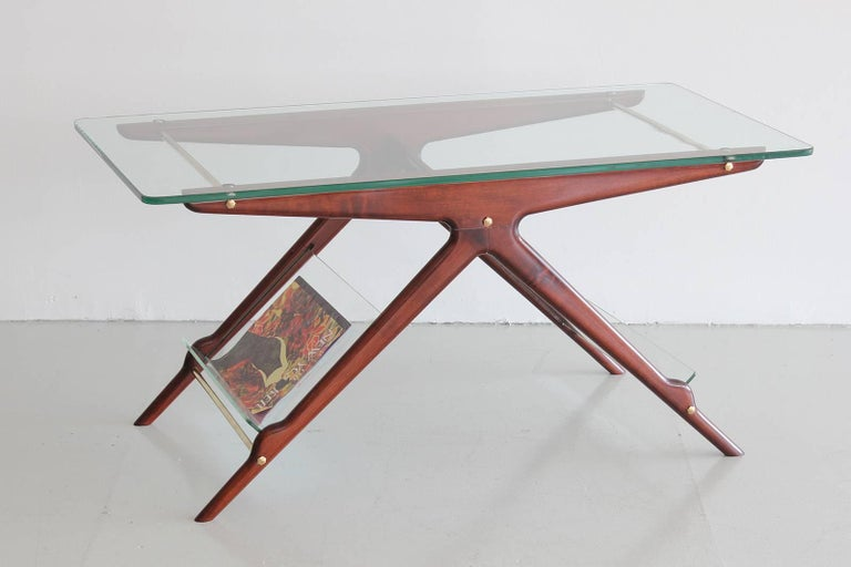Mid-Century Modern Italian Side Table For Sale