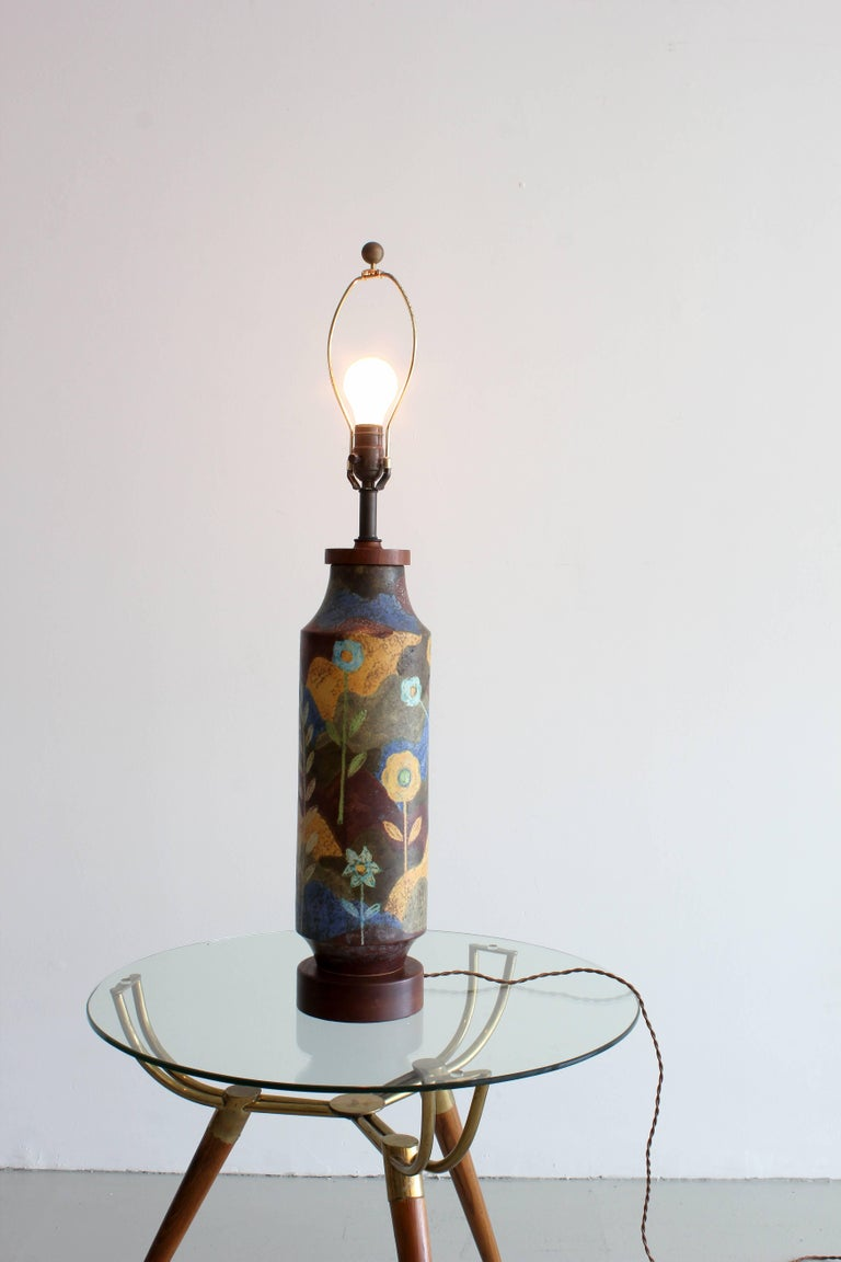 Raymor Ceramic Lamp 6