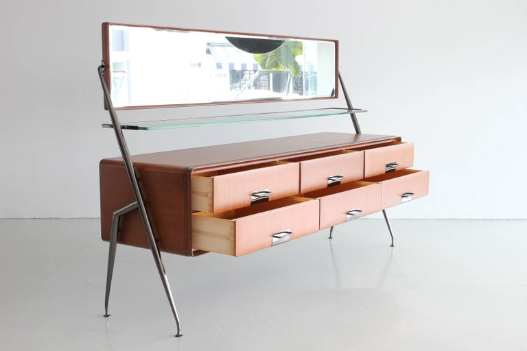 Mid-20th Century Silvio Cavatorta Dresser Vanity For Sale
